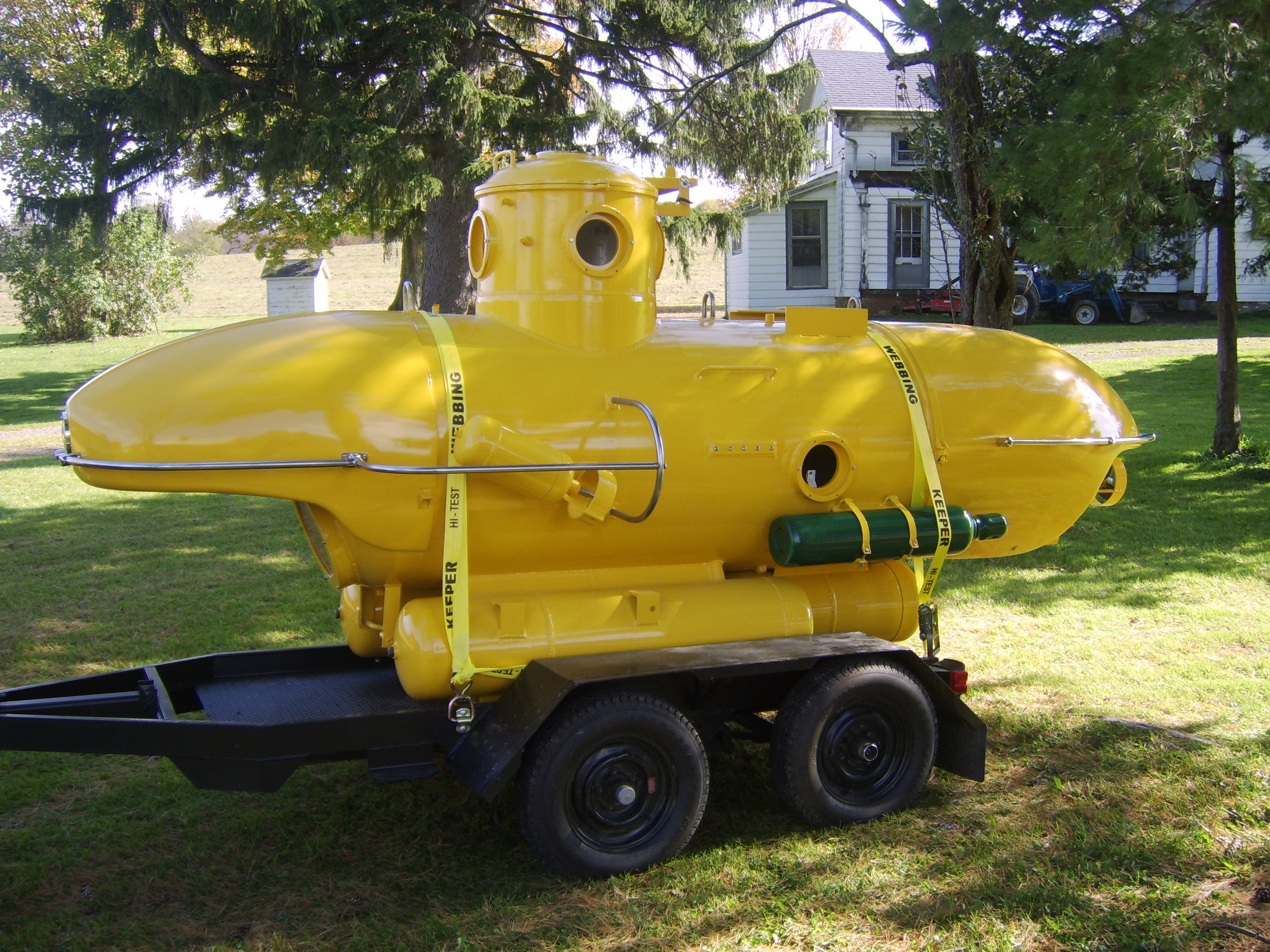 Two Man Submarine