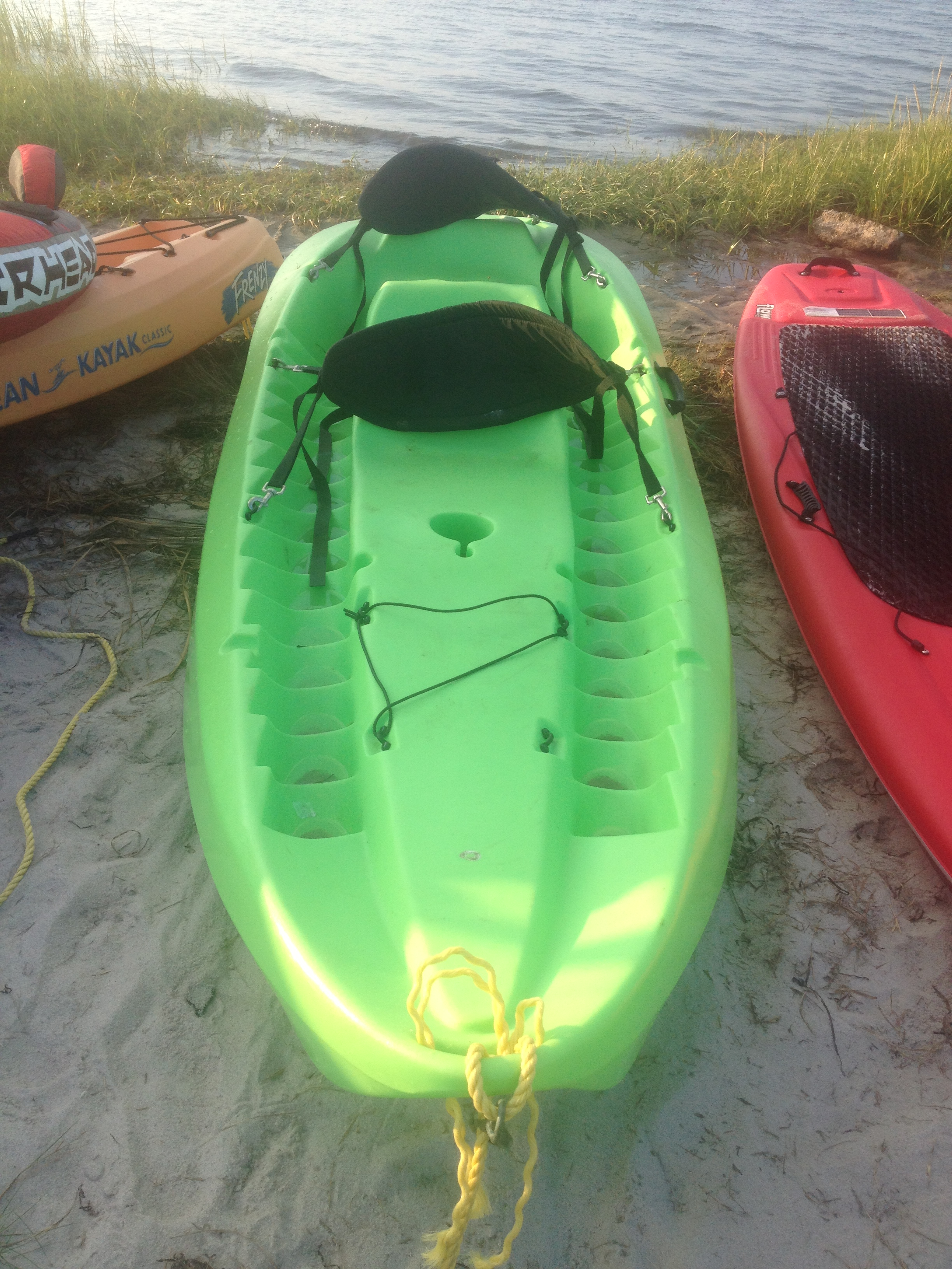 Green 2 man Paddle Boat