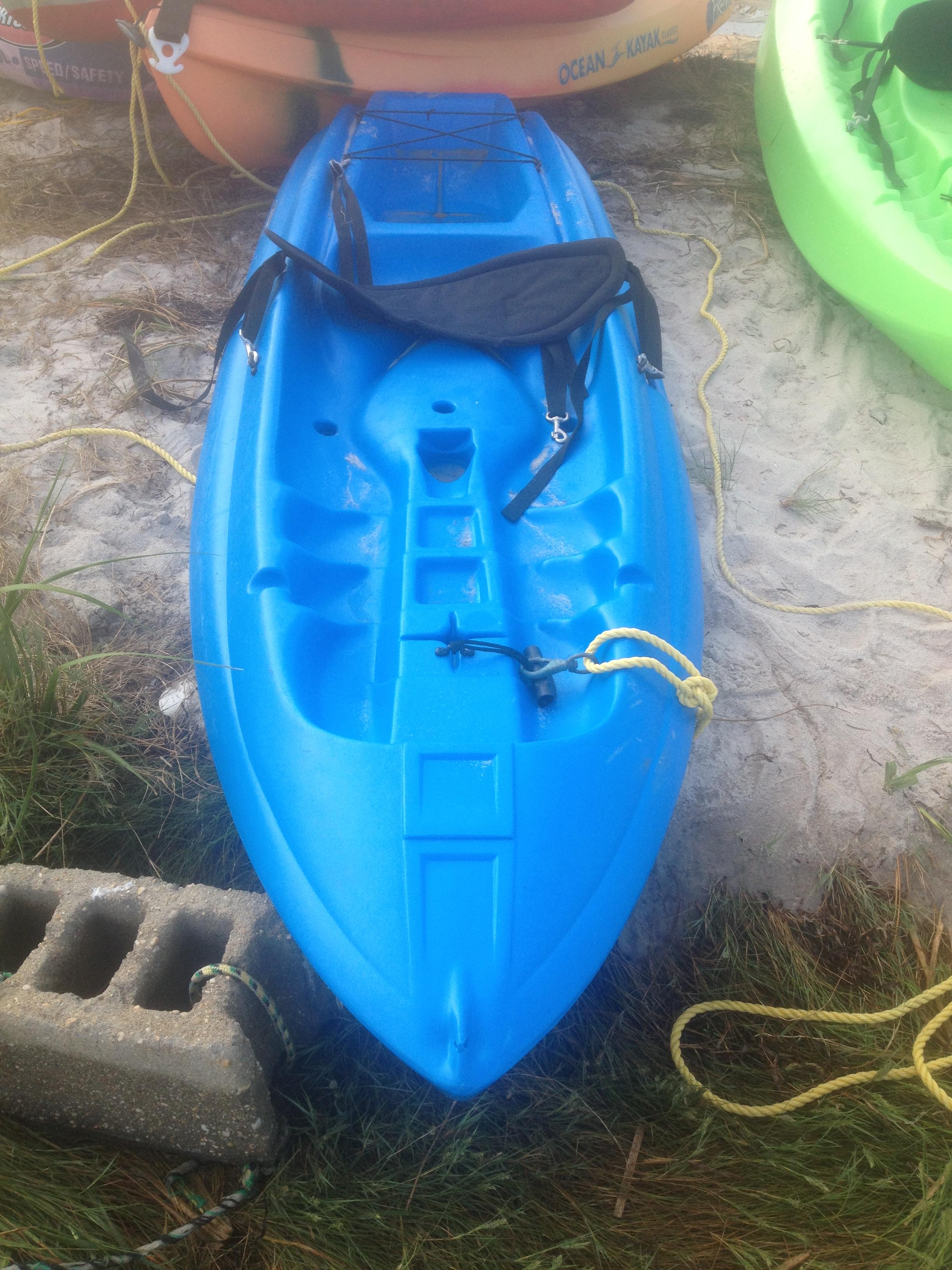 Blue Paddle Boat