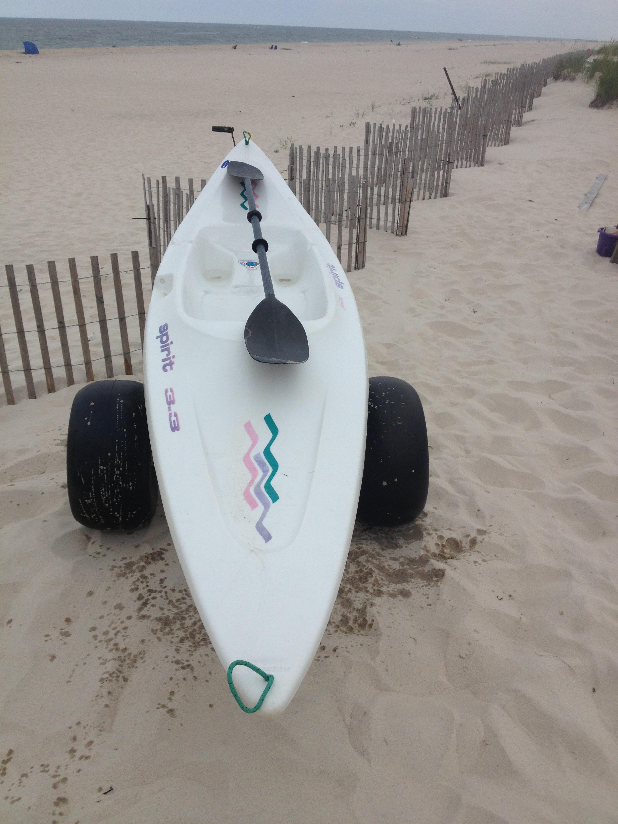 White Paddle Boat